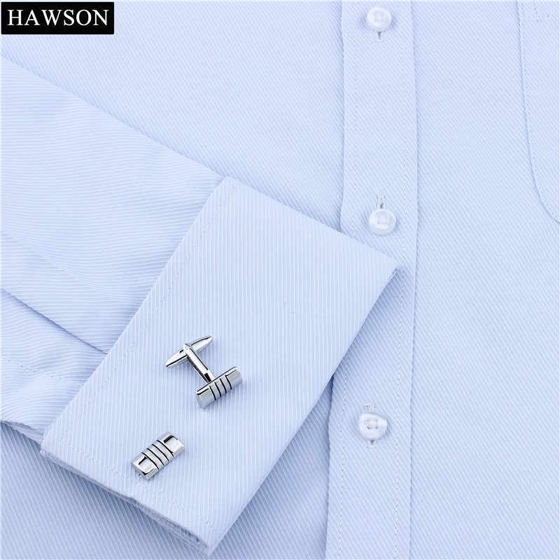 Plata para Hombre Vintage Camisa De Oficina Oval Gemelos Novedad Accesorios Caja de Regalo Reino Unido
