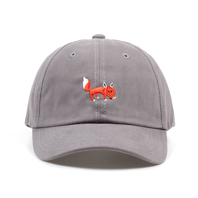2018 brand hats red Fox embroidery unisex baseball cap adjustable cotton snapback hat high quality casual caps sports hats new unisex 100% cotton outdoor baseball cap russian emblem embroidery snapback fashion sports hats for men