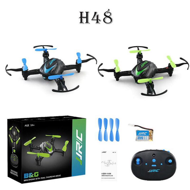 JJRC H48 Mini Drone 4CH 6 Axis 3D Flips Selfie Mini Drone RC Quadcopter Dron Fly Helicopter for Kids Children Christmas Gift Toy mini drone rc helicopter quadrocopter headless model drons remote control toys for kids dron copter vs jjrc h36 rc drone hobbies