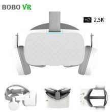 Bobovr x6 realidade virtual tudo em um vr binocular 2.5k hd vr fone de ouvido android 16gb 3d óculos capacete imersivo 5.5 lcd lcd wifi bt