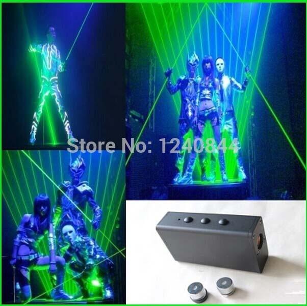 ФОТО 100mw(50mwx2) 532nm handheld double FAT green laser