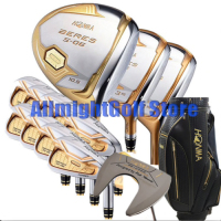 New Golf club HONMA S 06 4 star Golf complete set (14pcs) Driver+fairway wood+irons+putter graphite shaft cover free shipping