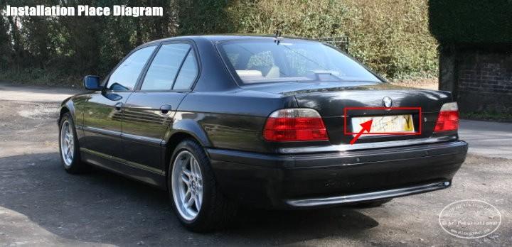 BMW 728i-back-license-plate-lamp