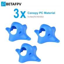 BETAFPV 3pcs Customized EOS2 FPV Canopy PC Blue for EOS2 Camera Beta85X Beta75X Beta75 Pro 2 FPV Whoop Drone