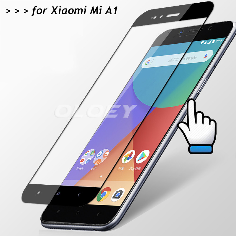 For Xiaomi Mi A1 Full Cover Tempered Glass 9H Screen Protector All Coverge Safety Protective Film On Mi A1 MiA1 A 1 5X 5.5For Xiaomi Mi A1 Full Cover Tempered Glass 9H Screen Protector All Coverge Safety Protective Film On Mi A1 MiA1 A 1 5X 5.5