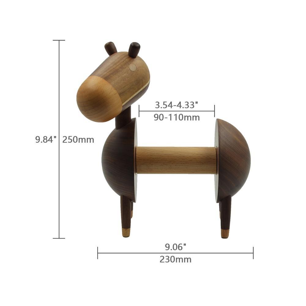 Luxus Wc Papier Halter Stehen Bad Papier Spender Natürliche Solide Holz Design Home Dekoration Nette Esel Holz Handwerk-in Tragbare Toilettenpapierhalter aus Heim und Garten bei  Gruppe 2