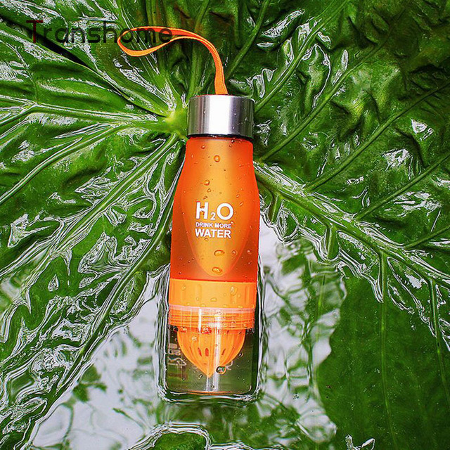 Transhome Creative Fruit Juice Infuser Water Bottle 650ml 5