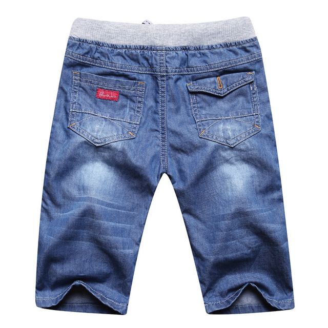 Rlyaeiz 2018 Summer Kids Boys Jeans Shorts Children Cowboy Shorts Soft Cotton Jeans Shorts Baby Boys 2-13Y Toddler Clothing