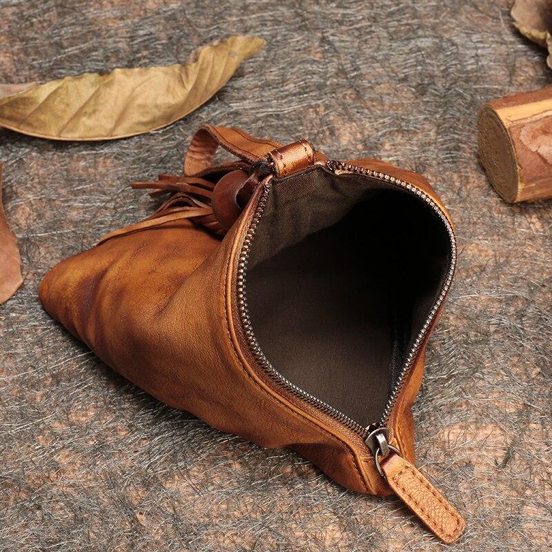 820546f0b97fc Krowy brown Torby Niebieski Podręczna Torebki Prawdziwej Skóry Skóra Na  bordowy Kobiet Handmade Telefon Torba 2019 ...