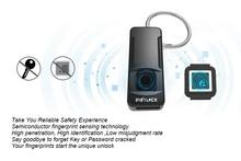 FipiLock смарт-замок отпечатков пальцев биометрический замок портативный открытый замок-ваш палец ключ