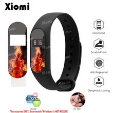 For Xiaomi Miband Mi Band 2 Band2 Lovely Panda Cartoon Character Protective Film Guard Screen Protector Cover Protection