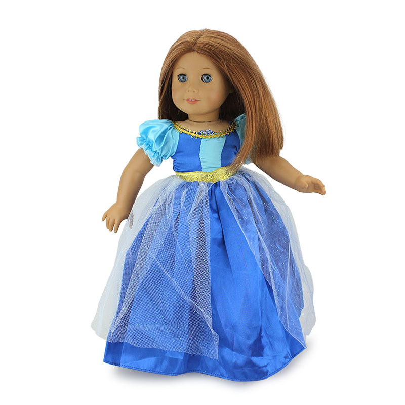 Fashion Dress Fit With American Girl Doll Dress 18 Inch Doll Clothes And Accessories Dresses