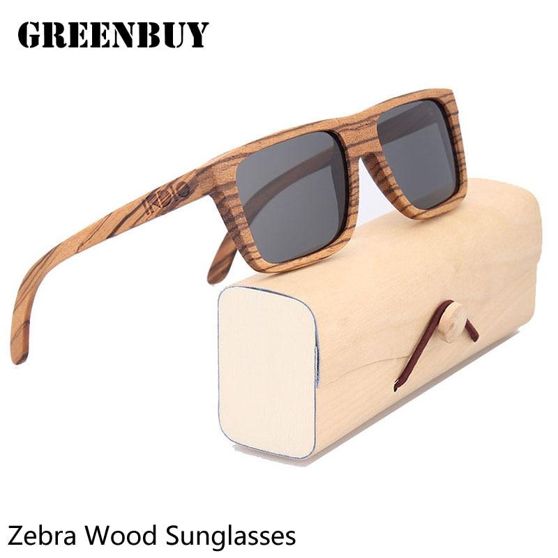 Polarized Sunglasses Men Gray Lens UV400 Male Wood Glasses Frame Men Sun Glasses Mens Sunglasses Brand Designer Gafas de sol uv400 polarized mirror orange lens wood frame sunglasses