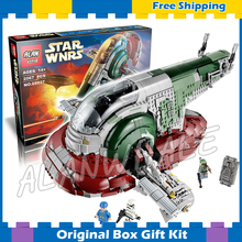 2067pcs Star Wars Universe New 05037 Slave I Model Building Blocks Great Toys Brick Playset Kit Compatible with Lego