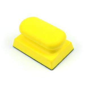 Image 3 - POLIWELL 1 шт. 1 ~ 6 дюймов PU пена шлифовальный держатель диска Наждачная бумага подложка полировальная подушка ручной шлифовальный блок все размеры шлифовальный коврик
