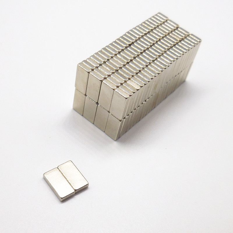 5PCS block magnet 50 10 3mm 60 10 5mm 40 10 5mm n35 Rare Earth strong Permanent NdFeB Neodymium Magnet in Magnetic Materials from Home Improvement