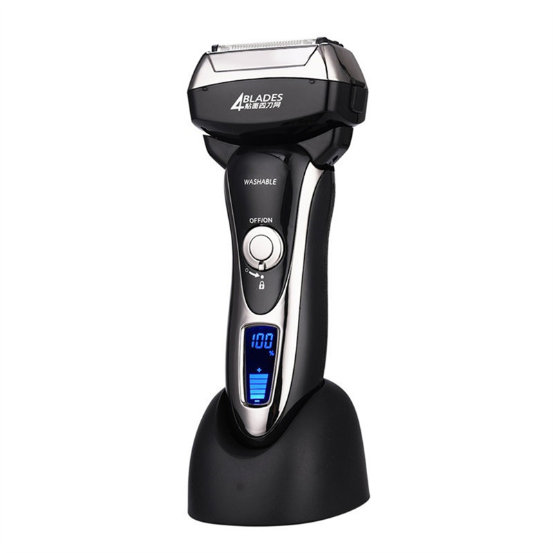 100 240V Kemei Shaver Razor Men Rechargeable Shaving Men s Electric Razor Clipper Body Washable Men