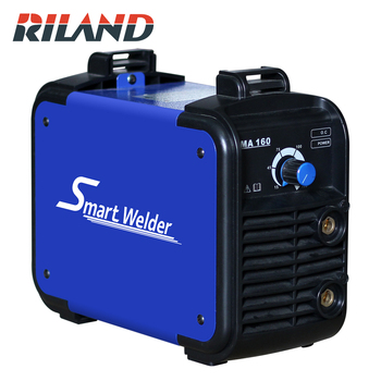 цена на RILAND Smart Welder IGBT Inverter Arc Electric Welding Machine 220V MMA160 Welder for Welding Working Machine