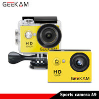1080P Full HD 2 0 LCD 140D Degree Wide Angle Len Action Camera Sports DV Go