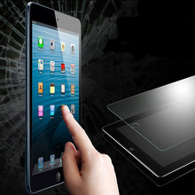 Toughened explosion proof apple ipad transparent tempered protective clear film protector