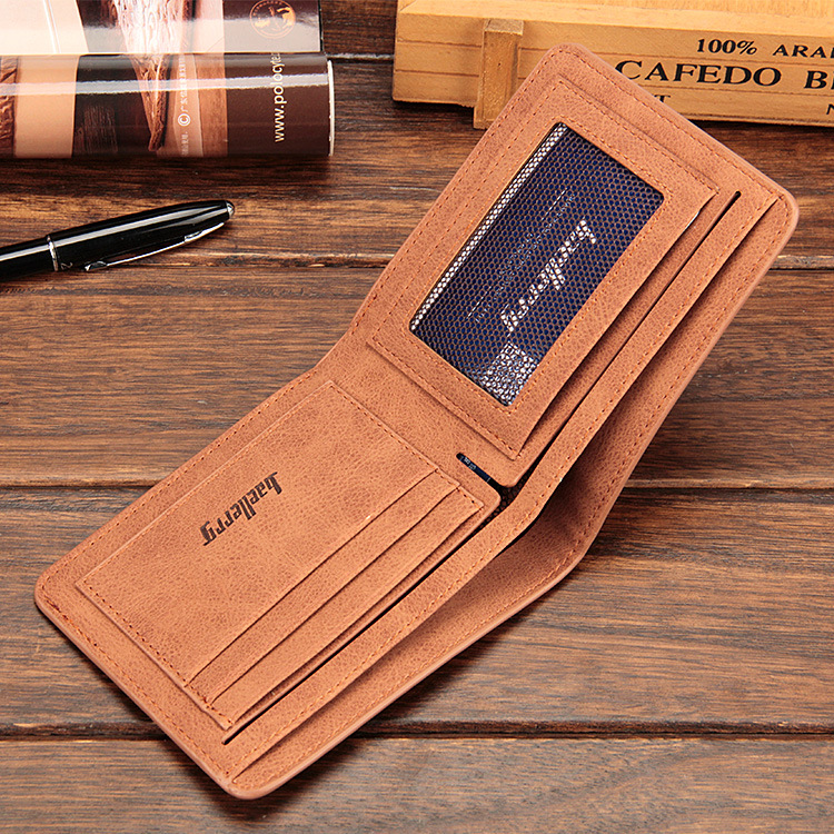 Baellerry 17 men wallets mens wallet small money purses Wallets New Design Dollar Price Male Wallet Purse with zipper Coin Bag 13