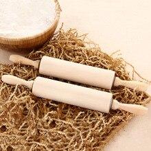 Buche Holz Nudelhölzer Rollen 360-revolving Backenwerkzeuge Jiaozi Brot Kochen Werkzeuge Natürliche Farbe Eco Keine Farbe ohne Wachs