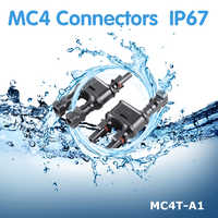 1 Pair Solar PV MC4 Branch Connectors Solar Energy Adapter Solar Panel MC4 T/ Y Branch Cable Splitter Coupler Combiner MFF FMM