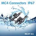 1 paire solaire PV MC4 branchement connecteurs énergie solaire adaptateur panneau solaire MC4 T/Y branche câble séparateur coupleur combinateur MFF FMM