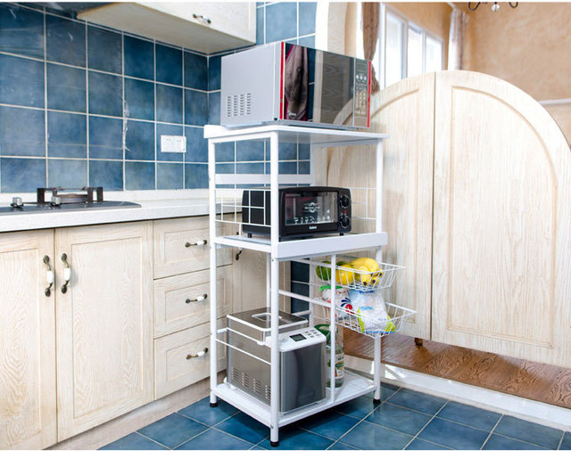 Yushu muebles de cocina horno microondas horno microondas estante estante microondas almacenaje - Estante microondas ...