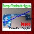 Para samsung galaxy s3 i9300 de la placa base con patatas fritas, original y europa versión 16 gb desbloqueado para samsung galaxy s3 i9300 placa base