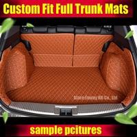Custom Fit Car Trunk Mat For Toyota Camry Corolla RAV4 Mark X Crown FJ Cruiser Yaris