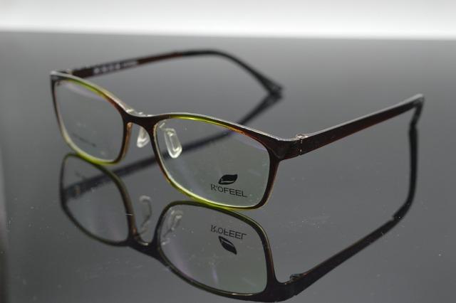 Retro TR90 ultraleve Jade verde óculos de armação Custom Made miopia óculos de leitura prescrição de lentes Photochrmic - 1 a - 6 + 1 a + 6