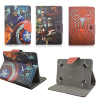 Cartoon Stand PU Leather Cover Cases For Universal 10 Inch For ARCHOS 101 Neon 101 Xenon
