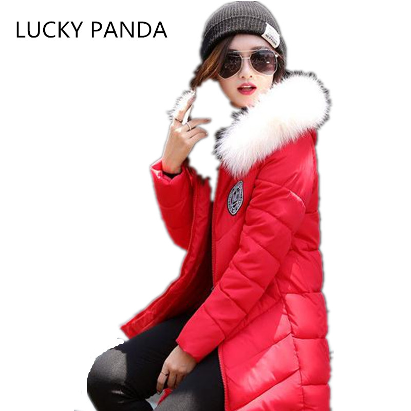 LUCKY PANDA 2016 WOMAN the new Korean hooded hair Pink Red Black Slim highlight the charm of women's jacket  LKB037 the black crowes the black crowes three snakes and one charm 2 lp