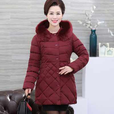2016 New Europe Fashion Causal Hooded Fur Parkas For Women Winter Coat Plus Size L-5XL Thick Long Duck Down Parka Mother A4239 women lightweight and warmth lengthen duck down coat hooded europe fashion winter ultra light parka with belt