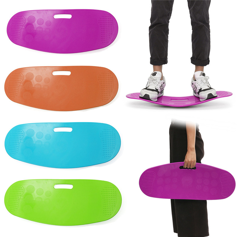 New Arrival Twisting Fitness Balance Board Simple Core Workout For Abdominal Muscles And Legs Balance Fitness Yoga Board