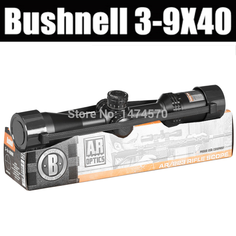 BUSHNELL 3-9X40 AR Optics Drop Zone-223 Reticle Tactical Riflescope With Target Turrets Hunting HighQuality бинокль bushnell trophy xlt 10x28 камуфляж