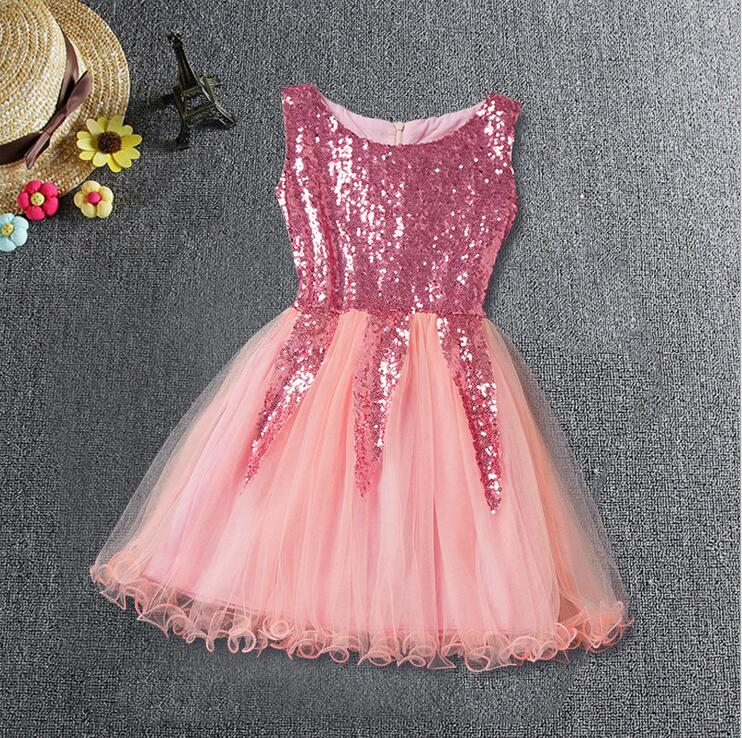 Retail children Girl gold sequin party dress Elegant champagne evening  dress toddler formal dress baby sling summer clothes-in Dresses from Mother    Kids on ... 9718ca42d7e8