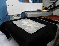 A4 Wysokiej Jakości Ciemny Kolor Bawełniana Koszulka Naciśnij Ciepła Transferu Sublimacji 100 arkuszy Papieru/torba