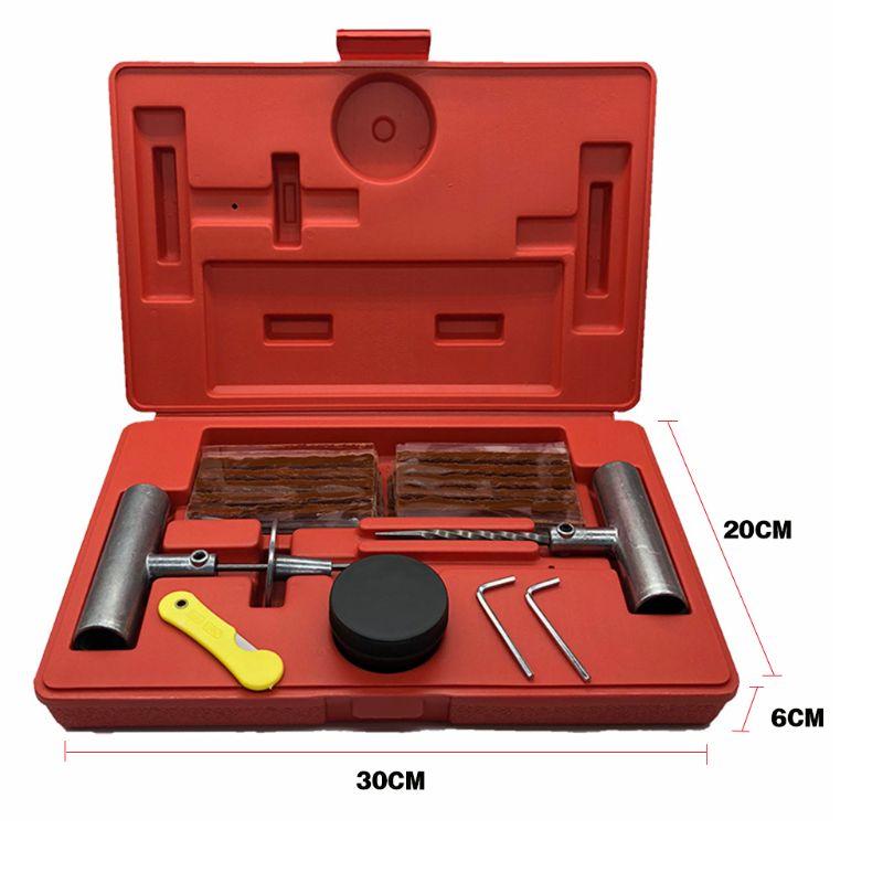 Универсальный 1 комплект, набор инструментов для ремонта автомобильных шин для фиксации проколов и штепсельной вилки на плоской подошве, 37