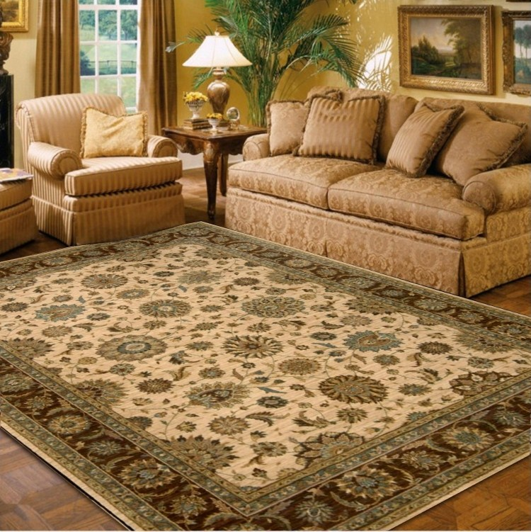 Living Room Carpet American Pure Wool Bed Rug Quality Fashion Coffee Table