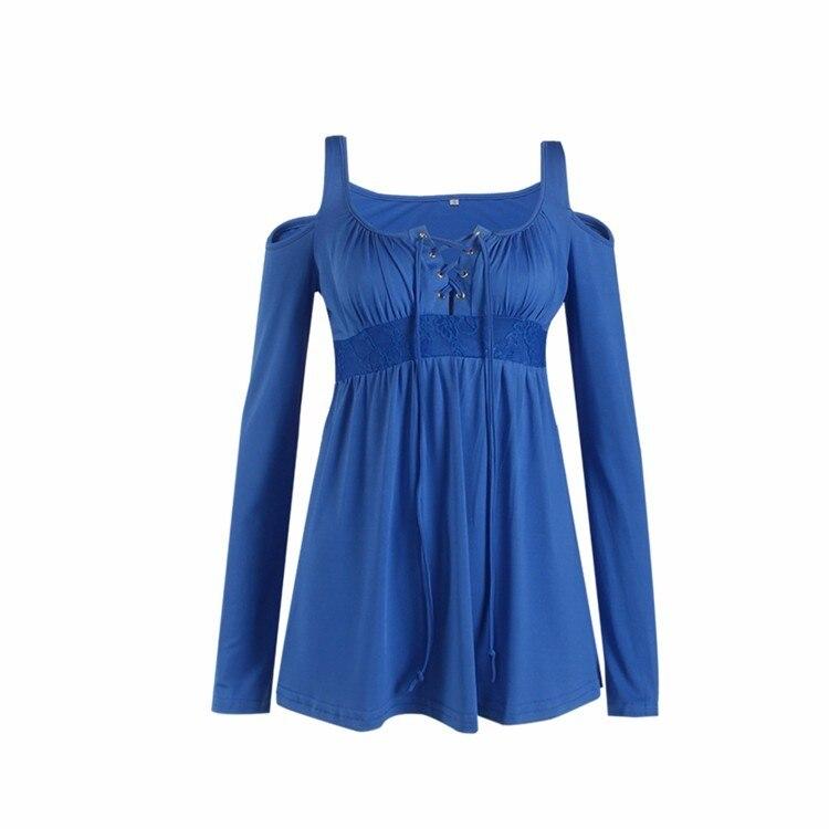 HTB1eayQPpXXXXb XFXXq6xXFXXXa - Women Spring Long Sleeve Off Shoulder V-neck T Shirt