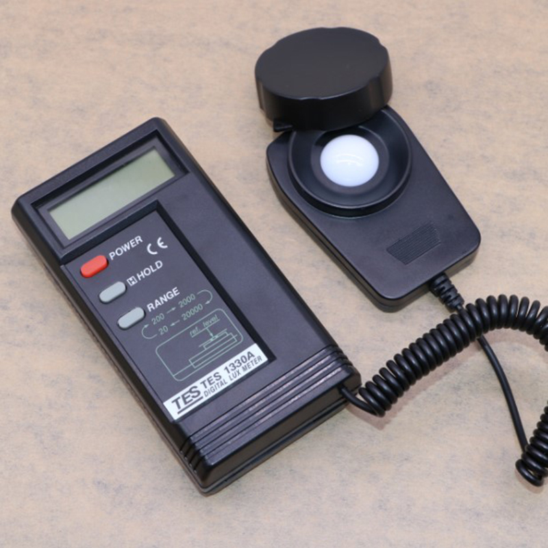 tes-1332A photometer high precision digital light meter free shipping hammer
