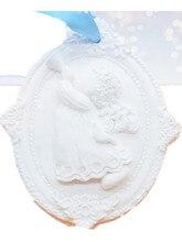 boy fragrance plaster mold DIY cake silica gel wax candle