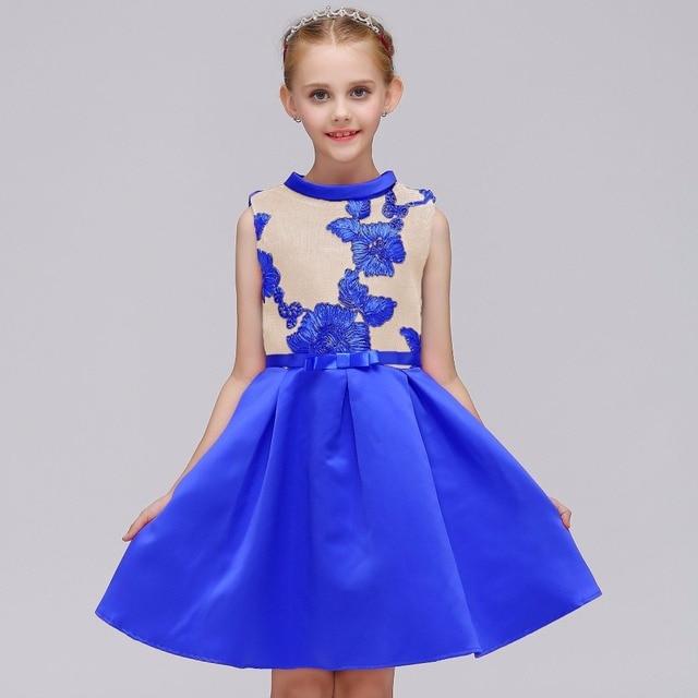 5abc8a820e876 US $13.5  Girls Sleeveless Summer Dresses 2018 Fashion Baby Girls Party  Dress Toddler Girls Princess Dresses Kids Dresses Girls Clothi-in Dresses  from ...