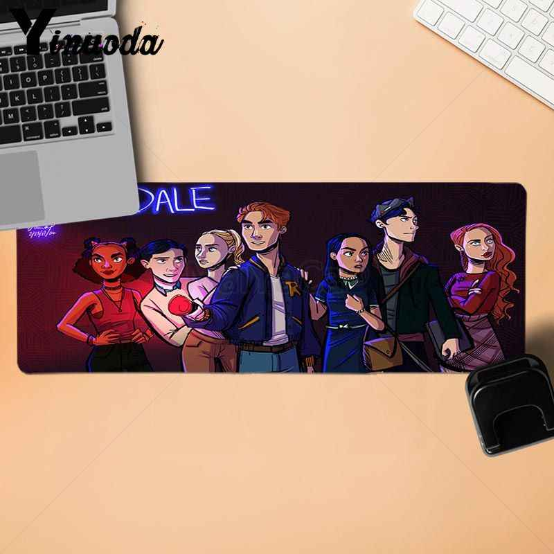 Yinuoda New Designs riverdale tv Gamer Speed Mice Retail Small Rubber Mousepad Size for 250*290 300*900  400*900cm
