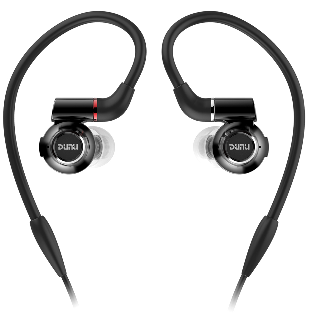 Topsonic DUNU DK-3001 DK3001 Hi-Res 3 BA + 1 Dynamic Hybrid Titanium Diaphragm Drivers W/ MMCX Cable Hifi DJ Earphones Earbuds dunu titan 3 hifi inner ear earphone titanium diaphragm dynamic high fidelity earphones with mmcx connector titan3 titan 3