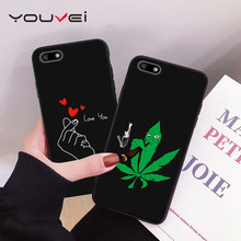 YOUVEI Case For Coque Huawei Y5 Y6 2017 Y9 2018 Soft TPU Back Cover Y7 2019 Prime Phone