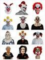 X-ВЕСЕЛЬЧАК Страшно Латекс Маска Клоуна Костюмы для Halloween Horror Партия Украшения