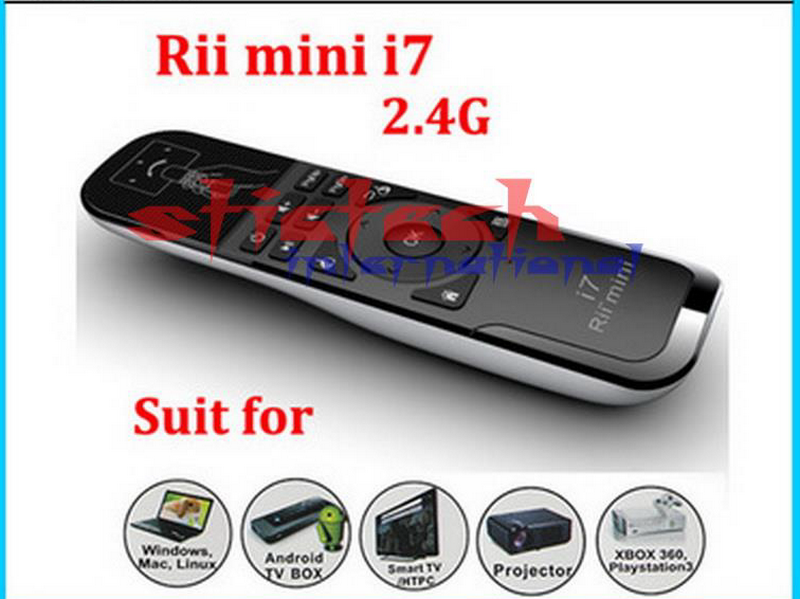 Remote-Control Air-Mouse Gaming Android Mini Smart Wireless I7 by for Tv-box/X360/Ps3/..